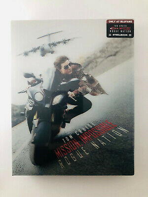 Mission Impossible: Rogue Nation (Blu-ray SteelBook - Lenti) (Blufans) [China]