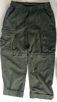 Boy Scouts America BSA Ladies Womens Sz 8 Switchbacks Pants Green Uniform Cargo