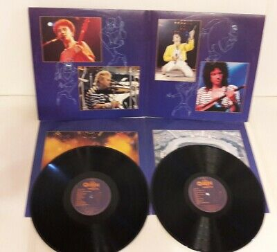 Queen – Live At Wembley '86 2 x vinyl LP1992 Parlophone Freddie Mercury rare 33