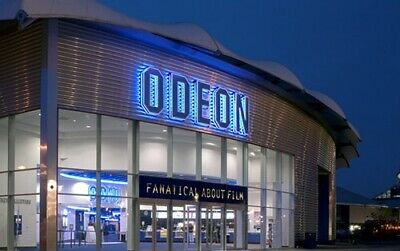 Four X4 Standard Adult Odeon Cinema tickets, Instant Delivery