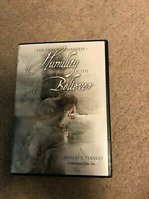Charles Stanley HUMILITY IN THE LIFE OF THE BELIEVER Path to Greatness 4 CD Set