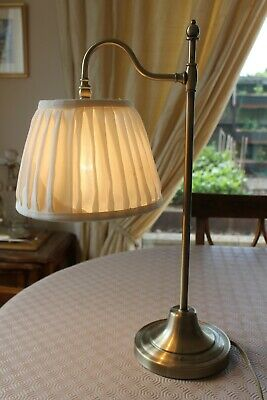Marks And Spencer Small  Pivot Table Lamp  F.w.o. Complete With Shade