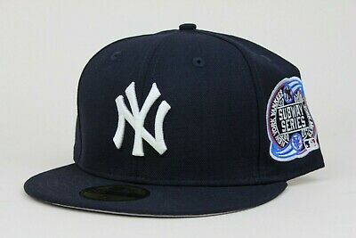 5493db47 New York Yankees Navy White 2000 Subway Series MLB New Era 59Fifty Fitted  Hat NY