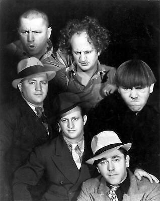 THE THREE STOOGES in and out of Character PHOTO  (184-v  )