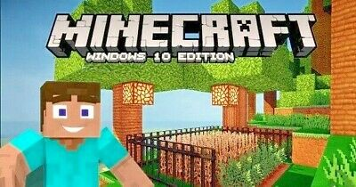 Minecraft ✅ licence key ✅ Windows 10 Edition (PC ONLY, FULL GAME, NO BOX)