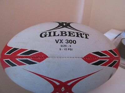 Gilbert Rugby Ball VX300 Rubber Training Ball used