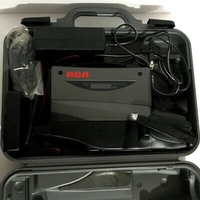 RCA CC439 Vintage VHS Camcorder Camera Recorder Color Playback Case