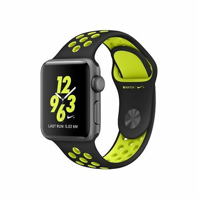 Apple Watch Series 2 Nike - 38mm - Space Gray Aluminum with Black/Volt Nike Band