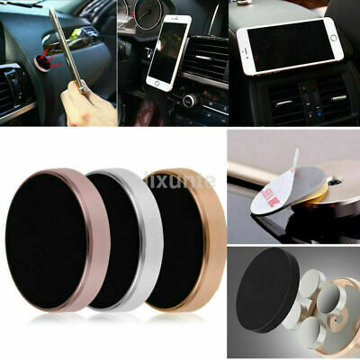 23WD Car Magnetic Phone Holder Fit Dashboard Universal Mount Various Colour