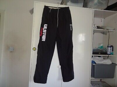Ulster Ireland rugby tracksuit bottom trousers  - size mens medium