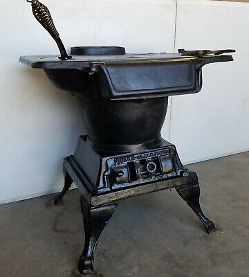 "Cast Iron Stove - Vintage 20""wide  x 20""high x 17.5""deep, Antique Laundry Stove"
