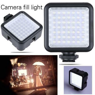 New Studio Portable 49 LED Video Light Dimmable Lamp Photo Lighting for Camera