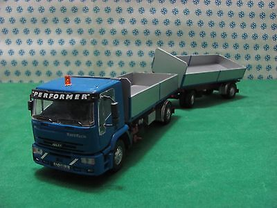 Camion Iveco Eurotech Performer Benne -1/43 Old Voitures / Gila Modèles