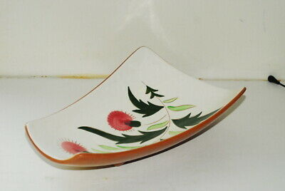 Stangl Thistle FOOTED Relish Tray 11.5 Inch