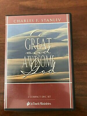 Charles Stanley A Great and Awesome God 2 CD SET