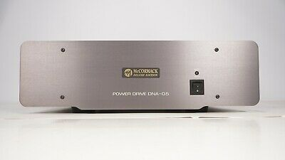 McCormack Power Drive DNA-0.5 Deluxe Edition Stereo Power Amplifier