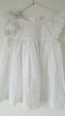 Vintage broderie anglaise Hand Made Pinafore Baby