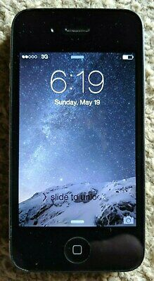 CLASSIC COLLECTIBLE EARLY APPLE iPHONE 4s 16GB MOD #A1387 VERIZON WORKING BEAUTY