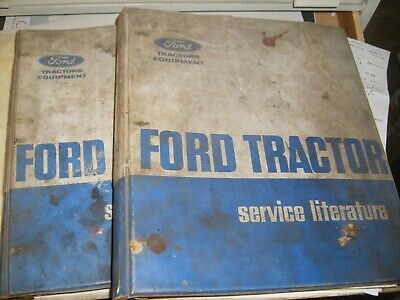 Ford tractor manuals 1964