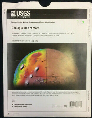 USGS Geologic Map of the Mars Scientific Map 3292 Prepared for NASA 2014