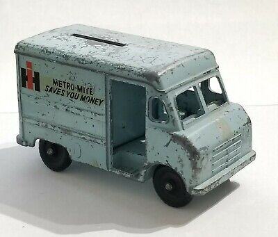 Vintage International Harvester Metro-Mite Saves You Money Coin Bank Toy Truck