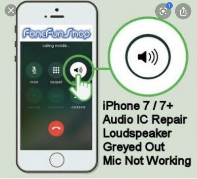 iPhone 7 Audio IC Repair Service Recording Failed No Audio Device Longboot FAST