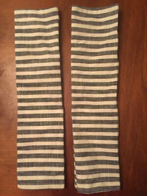Hearth & Hand with Magnolia Striped Black & Cream Set of 2 SOLD OUT Napkins