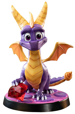 """Spyro the Dragon - Spyro the Dragon 8"""" PVC Statue By First 4 Figures NEW S"""