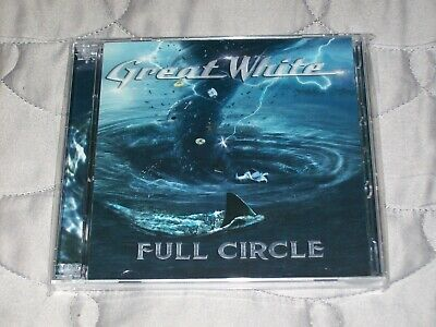 Great White - Full Circle (CD + DVD)jack russell/mark kendall/xyz/ NEW SEALED!!