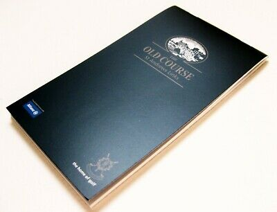 """2019 BRITISH OPEN @ ST. ANDREWS (The OLD COURSE) """"YARDAGE"""" BOOK"""
