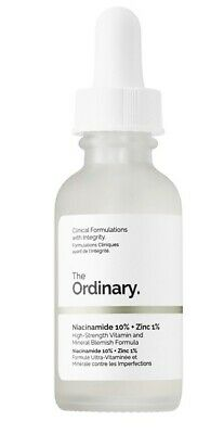 The Ordinary Niacinamide 10% + Zinc 1% High Strength Vitamin and Mineral Formula