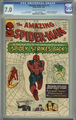 Amazing Spider-Man #19 CGC 7.0 OW/W