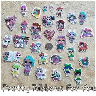 LOL girls FLAT RESINS LOT of 31......1   of each style as picture