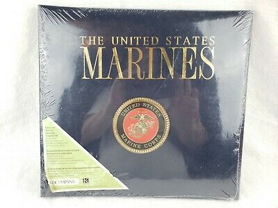 United States Marine Corps Leather Scrapbook