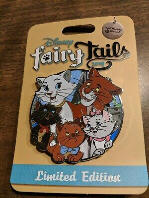 Walt Disney Fairy Tails Pin Event The Aristocats Mini Jumbo Pin LE 500