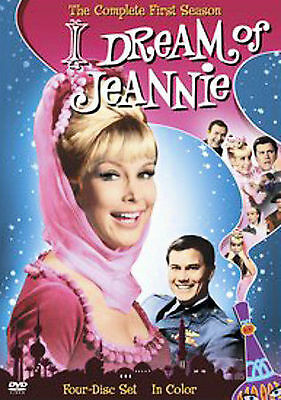 I Dream of Jeannie The Complete First Season DVD 2006 4-Disc Set Color New Seale