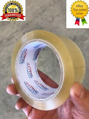 60Sticky Packing Packaging Tape - 45 Micron Clear  - 45U - 75meter x 48mm