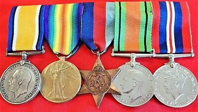 """Royal Marine Labour Corps"" Ww1 & 2 Group To S.t.winsor Torquay Devon Navy"