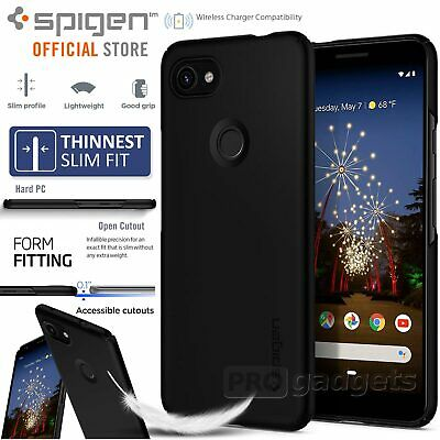Pixel 3a /XL Case Genuine SPIGEN Ultra Exact Thin Fit Slim Hard Cover for Google