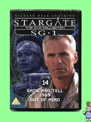 Stargate SG1   3 Episodes from Season Two No 14 DVD New Sealed UK Region 2 PAL