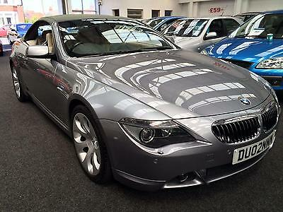 2005 BMW 6 Series 645Ci 4.4 V8 Auto Convertible 12 MONTHS MOT, FULLY SERVICED a