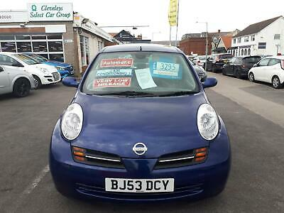 2003 Nissan Micra 1.2 SE Automatic 5 Door From £2,495 + Retail Package Hatc