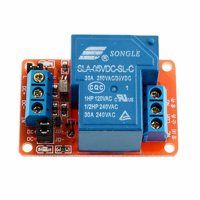 New 5V 30A 1-Channel Relay Module+Optocoupler H/L Level Triger For Arduino FE