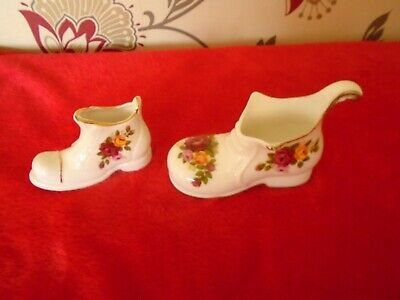 Royal Albert Old Country Roses Inspired   Cottage Rose Pr Of Boots ***
