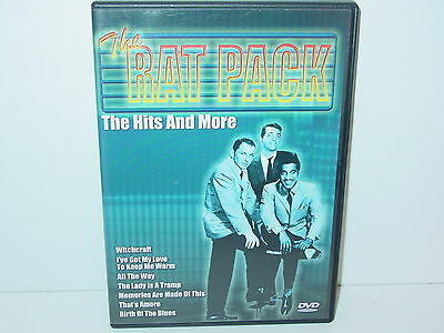"""*****DVD-THE RAT PACK""""THE HITS AND MORE""""-2005 Delta Entertainment*****"""