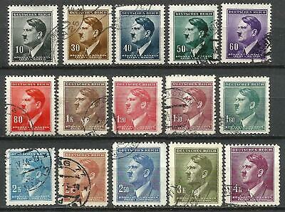 Germany Third Reich 1942 Occupation Bohemia Selection Hitler Defins used #74