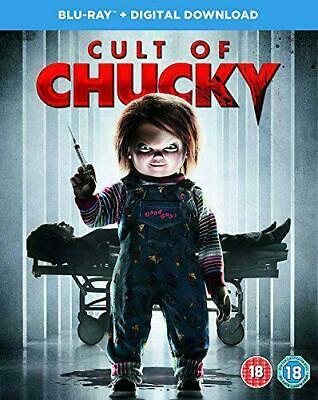 Cult Of Chucky  Blu-Ray Dvd  + Digital Download  ( Brand New & Sealed )