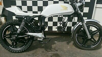 Honda Cb250 400N Superdream Cafe Racer Flat Tracker Project