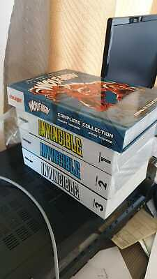 Invincible Compendiums 1 2 3 Complete + Astounding Wolfman Complete Collection