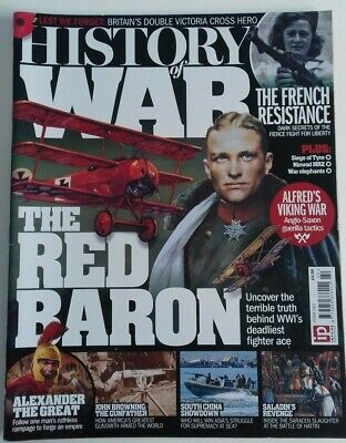 History Of War Magazine Issue 22 (2015) Red Baron - Alexander The Great